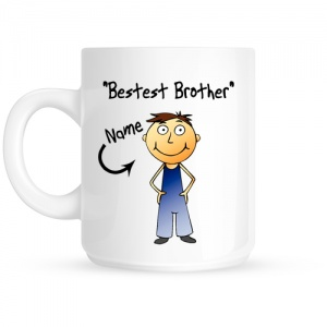 Personalised Brother Personalised Mug