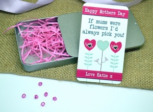 Happy Mothers Day Personalised Earring Gift Set