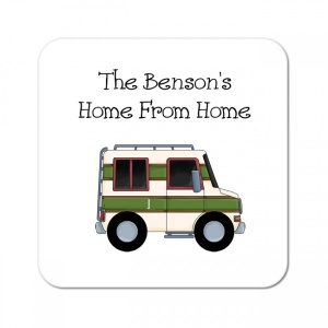 Personalised Motorhome Home Coaster