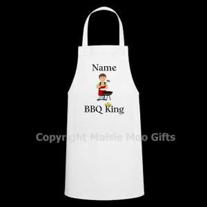 Personalised BBQ King Apron