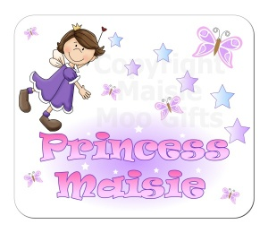 Princess Personalised Placemat
