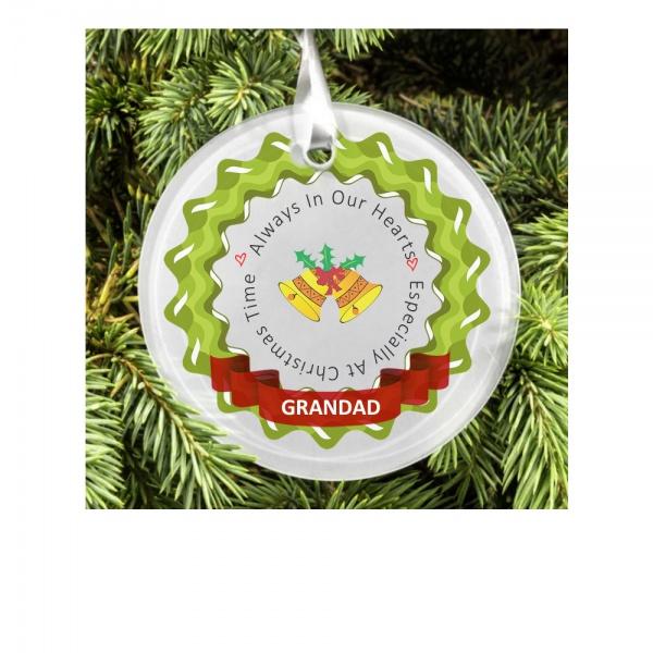 Personalised Christmas Tree Decoration