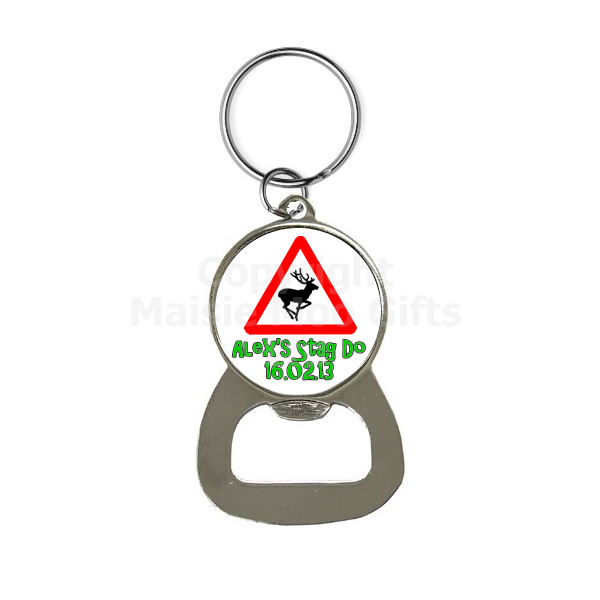 personalised stag do keyring personalised stag do bottle opener keyring personalised stag do. Black Bedroom Furniture Sets. Home Design Ideas