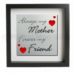 Always My Mother Forever My Friend Metal Wall Art