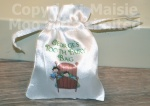 Personalised Boys Tooth Fairy Satin Bag