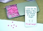I Live For The Nights I Can't Remember .. Personalised Earring Gift Set