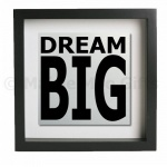 ''Dream Big'' Metal Wall Art