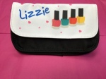 Lizzie - Personalised Nail Varnish Bag / Case