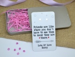 Friends Are Like Stars Personalised Earring Gift Set
