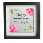 Happy Anniversary Personalised Metal Wall Art