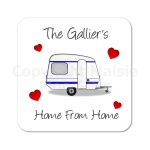 Personalised Caravan Coaster
