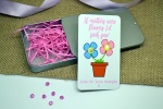 If Mothers Were Flowers Personalised Earring Gift Set