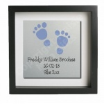 Personalised New Baby Metal Wall Art