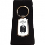 Personalised Page Boy Keyring