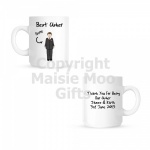 Personalised Usher Wedding Mug