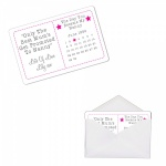 Personalised Day You Became My Nanny Sentimental Metal Wallet Purse Card