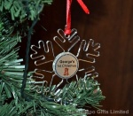 Personalised Baby's 1st Christmas Tree Decoration