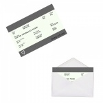 Personalised GREY Train Ticket Metal Wallet / Purse Sentimental Card