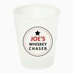 Personalised Name Whiskey Chaser Shot Glass