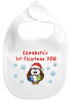 My 1st Christmas Personalised Baby Bib