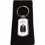 Personalised Best Man Keyring