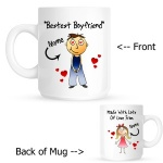 Personalised Boyfriend / Husband Personalised Mug