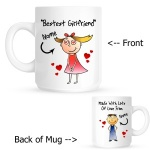 Personalised Girlfriend / Wife Personalised Mug