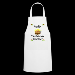 Personalised Christmas Dinner Chef Apron