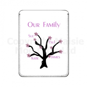 Apple Blossom Family Tree Personalised iPad Cover