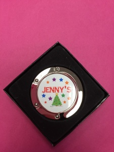 Jenny's - Personalised Tree Christmas Stocking Holder