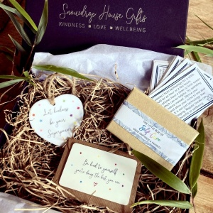 Let Kindness Be Your Superpower Self-Care BE KIND Gift Box Set