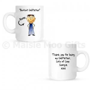 Personalised Godfather Mug