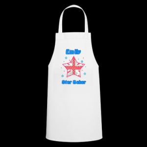 Personalised Shabby Chic Style Star Baker Apron