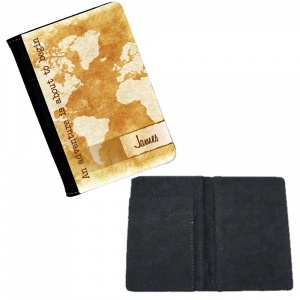 Personalised Vintage Style Passport Cover