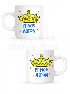Personalised Prince Children's Ceramic Mug