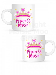 Personalised Princess Children's Ceramic Mug