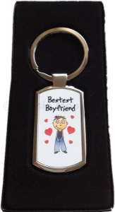 Bestest Boyfriend / Husband Keyring