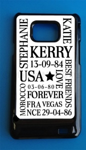Personalised Samsung i9100 Galaxy S2 Mobile Phone Case