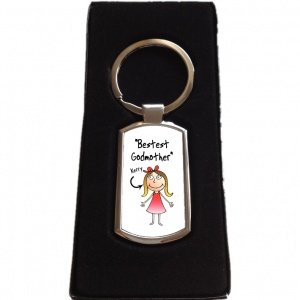 Personalised Godmother Keyring