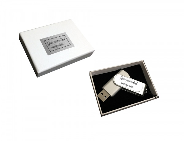 Personalised USB 16GB Boxed Gift