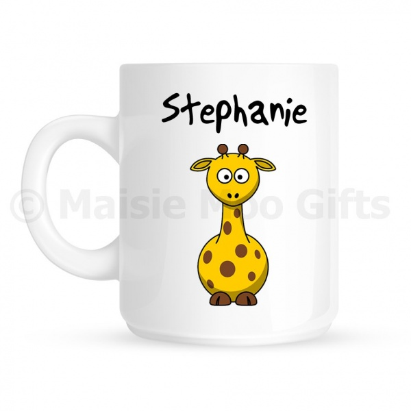 Personalised Giraffe Mug