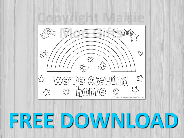 We're Staying Home Free Download Poster