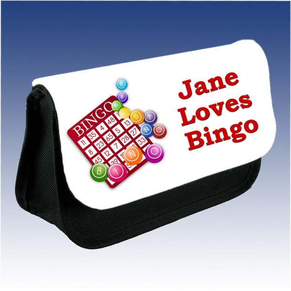 Personalised Bingo Pencil Case