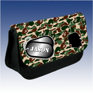 Personalised Army Pencil Case