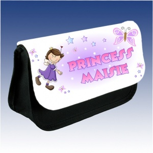Personalised Princess Pencil Case