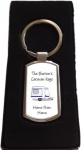 Personalised Caravan Keys Keyring