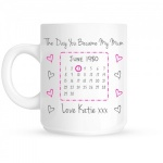 Personalised Day You Became My Mum Ceramic Gift Mug