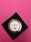 Hannah - Personalised Tree Christmas Stocking Holder