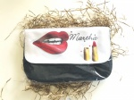 Pre Printed MakeUp Lips Pouches - Only Certain Names Available