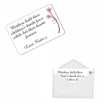 Personalised Mother Metal Wallet / Purse Sentimental Card